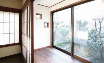 愛知県 日進市 リフォーム「今ある物を大切に。こげ茶でつながる新空間」
