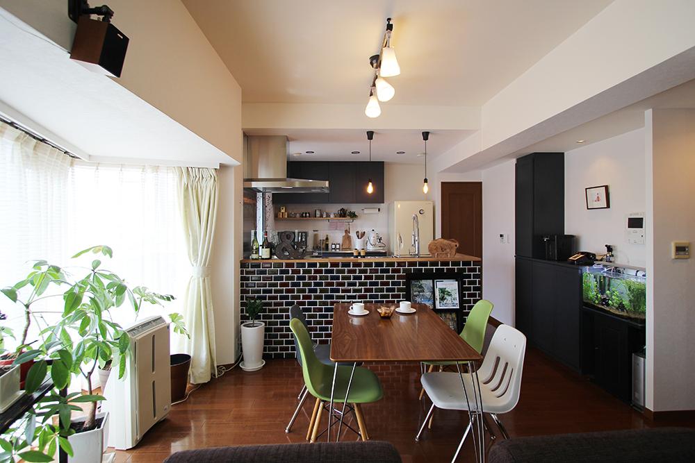 キッチンだけを部分リノベ!対面式キッチンでLDKが広々と変身 | 大府市