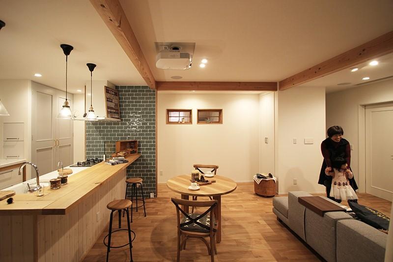 戸建の2階をリノベーションして快適な二世帯住宅に。