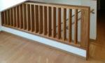 採光を考慮した階段格子:ナラ材)写真2