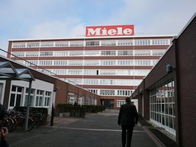 Miele(ミーレ)の工場の外観です