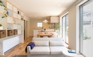 名古屋市 千種区 リノベーション|定年後の時間をゆったり暮らす。風通しの良い2人暮らしの家