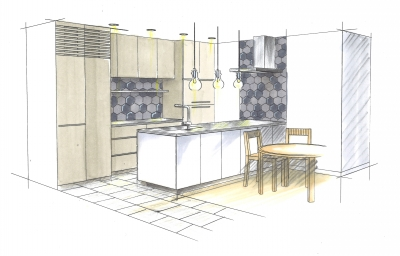 オーダー オリジナルキッチン