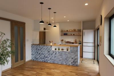 LDKの増築・キッチン改装