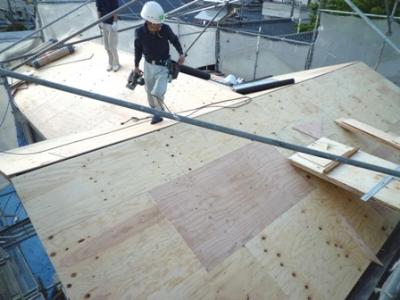 屋根の補強・葺替