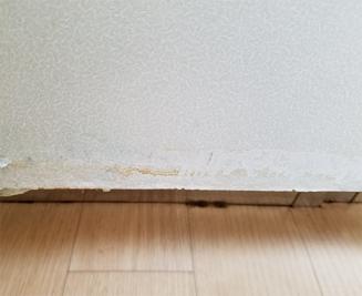 傷んだキッチン扉