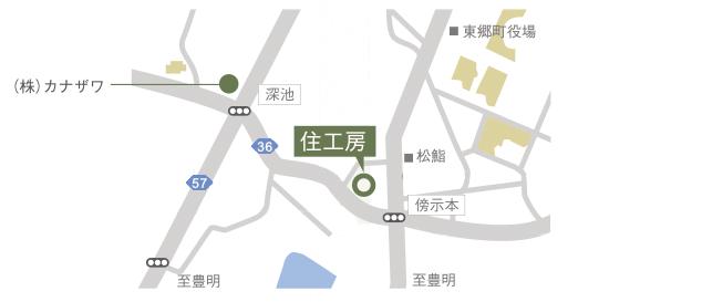 住フェス 駐車場地図