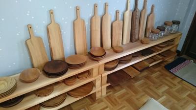 工房やすさんの木工作品