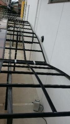 外壁塗装のためのカーポート取り外し 東郷町2