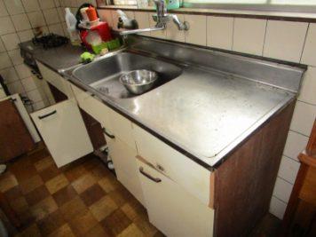 キッチンの改装 Before|東郷町諸輪