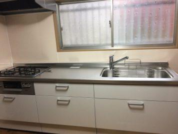 キッチンの改装 壁のキッチンパネル|東郷町諸輪