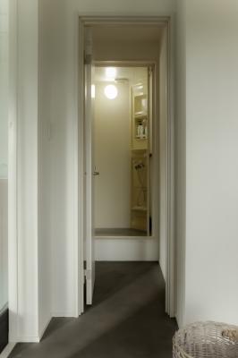 2階のシャワールーム