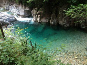 木曽の阿寺渓谷|長野県