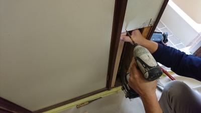 防蟻材の塗布