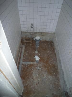 浴室、洗面所、トイレなどの改修工事1