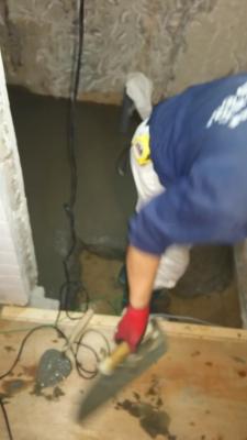 洗面所、トイレなどの改修作業