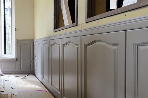 LDK改装(塗装工事:壁)|みよし市S様邸
