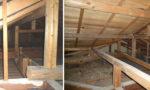 耐震の現調:屋根裏