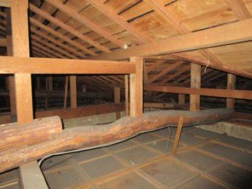 現場調査|屋根裏