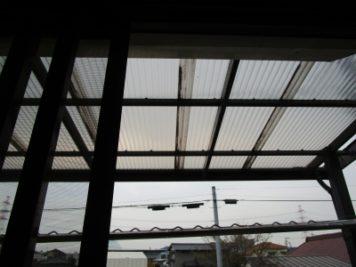 波板取替(フック)|東郷町Y様邸