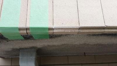 外壁タイルの補修工事