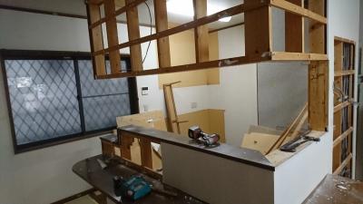 キッチン 解体作業 | みよし市 2