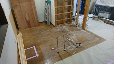 キッチン 解体作業 | みよし市 3