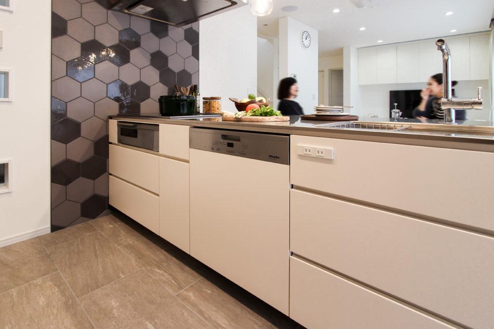 オーダーキッチン:ミーレの食洗機