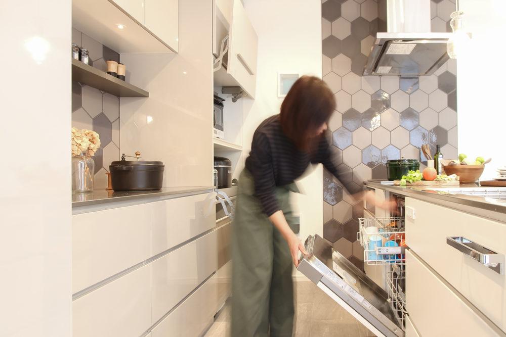 オーダーキッチン:洗浄力やデザイン性に優れたミーレの食洗機