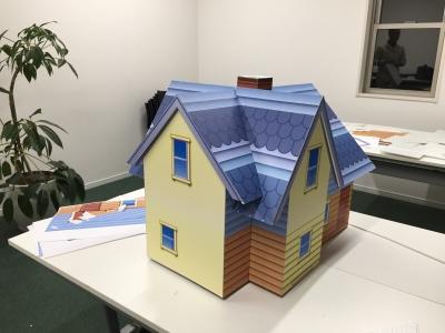 文化産業まつり|東郷町(家の模型)