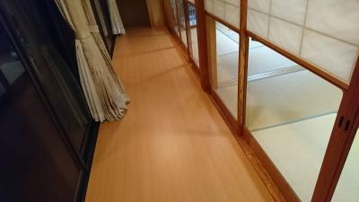 張替え後の床1
