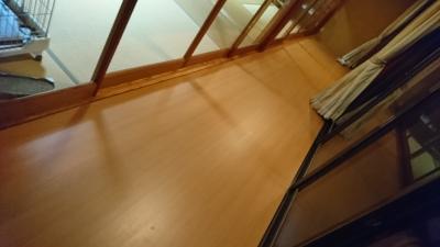 張替え後の床2