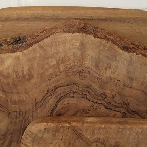 カッティングボードの木目
