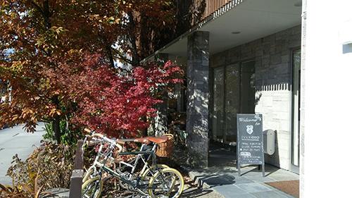 住工房 ショールーム入口(東郷町)
