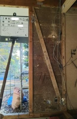 耐震補強:構造合板張り