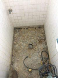 トイレ改装(既存の配管出し)