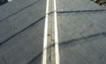 屋根板金の修繕(コーキング処理