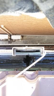 雨樋の詰まり(掃除後)