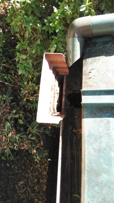 集水器の詰まり(掃除後)