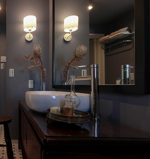 ホテルのような洗面