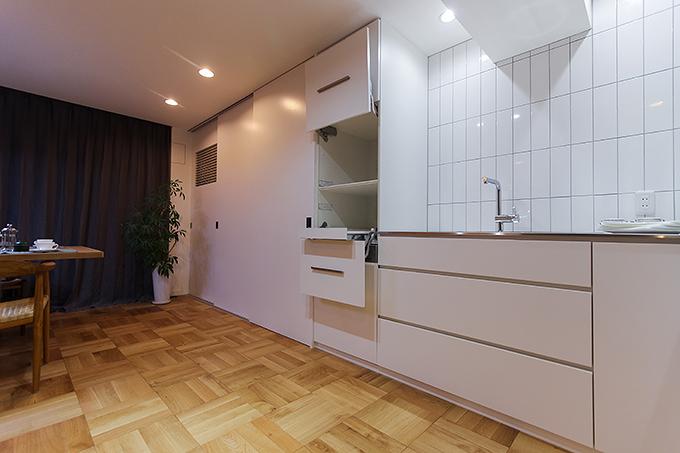 オーダーキッチンとキッチン壁面収納