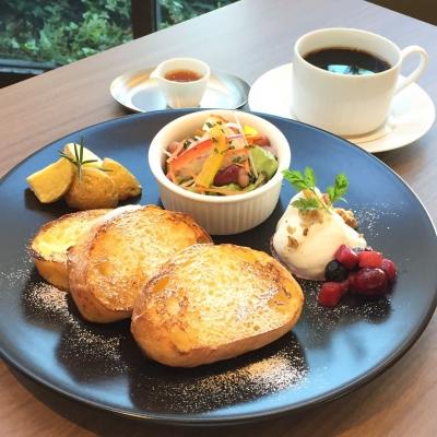 食堂カフェ「凛」フレンチトースト
