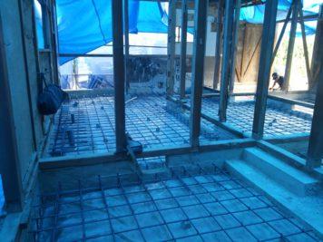 基礎の補強、新設工事