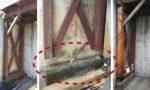 ウッドデッキの柱・土台を取替工事