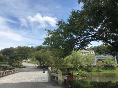 園内のゆったりとした雰囲気