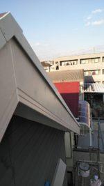 破風板の取り替え工事。補修後。
