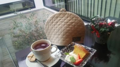 Ncafe hoshigaokaさん|ART OF TEAの紅茶とシフォンケーキ
