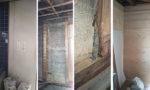 耐震補強工事(解体から合板貼り)