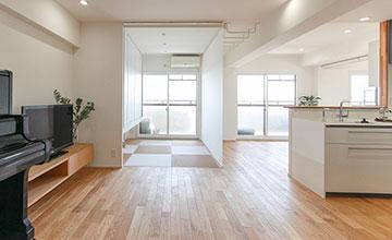 名古屋市北区のマンションリノベーション