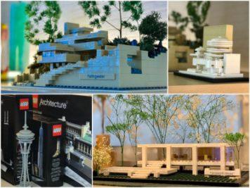LEGOで作った世界の有名な建物